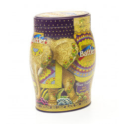Herbata BATTLER T/C TEA SPIRIT MOOD INDIGO CZARNA HERBATA LIŚCIASTA 100G PUSZKA