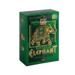 Herbata Battler Leat Tea Ceylon Green Tea GP GREEN ELEPHANT 100g