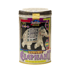 Battler T/C RUHUNU ELEPHANT herb. czarna liściasta 100g (puszka)