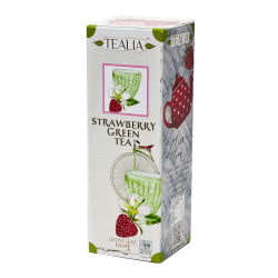 Tealia - Loose Tea in Refill STRAWBERRY GREEN 100g