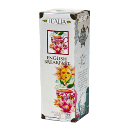 Herbata Tealia - Loose Tea in Refill ENGLISH BREAKFAST 100g
