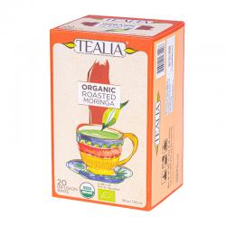 Tealia - Roasted Moringa Tea - Organic 20 Bags
