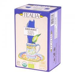 Tealia - Earl Grey Tea - Organic 20 Bags
