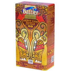 Battler - Golden Giant 25 Tea Bags -  STRAWBERRY WITH CREAM