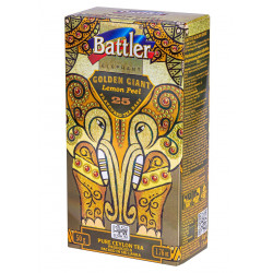 Battler - Golden Giant 25 Tea Bags -  LEMON PEEL