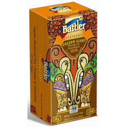Battler - Golden Giant 25 Tea Bags -  ORANGE & CINNAMON