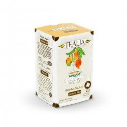 Herbata Czarna o smaku Mango - Tealia Tea Pyramid MANGO