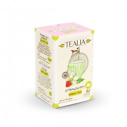 Herbata TEALIA TEA PYRAMID STRAWBERRY