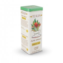 Herbata Tealia Tea in Tin Pure Green 100g